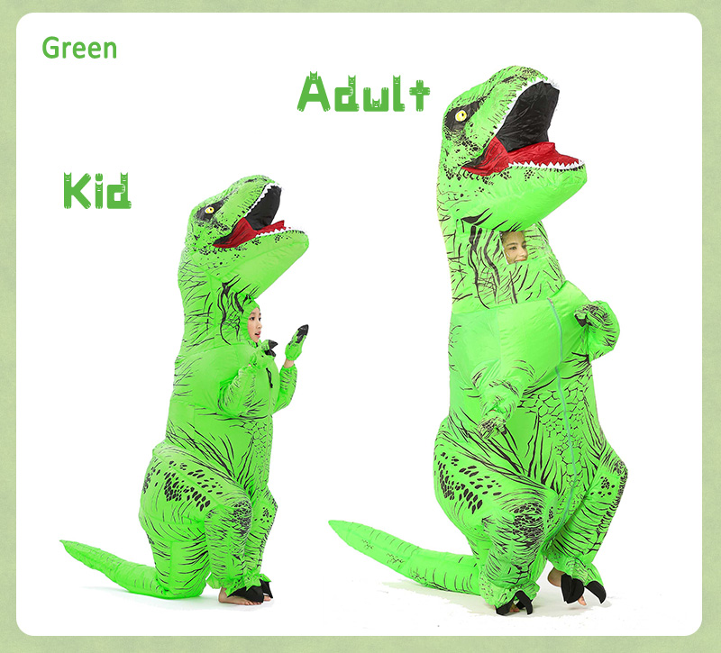 inflatable dinosaur costume-11