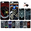 Soft Case for Apple Iphone 5 5s se 5c 6s 6 7 plus Cool Motor Cycle 3D Print Skull Harley Davidson Thin Cover Full Protector New
