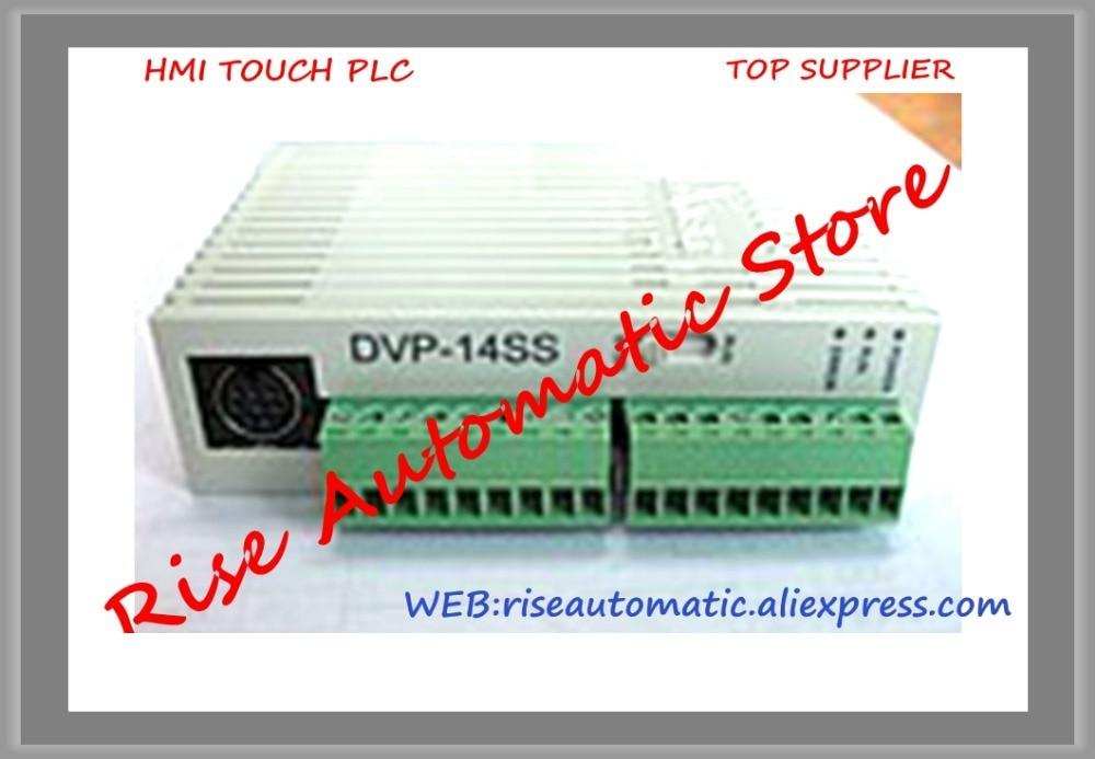 PLC DVP-SS Series 24VDC 8DI 6DO relay Standard DVP14SS11R2 90% New ss series speaker stands