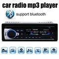 Поддержка Bluetooth/SD Card/USB Порт/AUX В/ТЕЛЕФОН Новый bluetooth 1 Din размер 12 В автомобиль радио стерео аудио mp3-плеер в тире