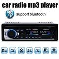 Nueva 12 V Del Coche de Radio bluetooth coche MP3 Reproductor de Audio construido en el Bluetooth teléfono con Puerto USB SD MMC Del Coche de radio bluetooth En El Tablero 1 DIN