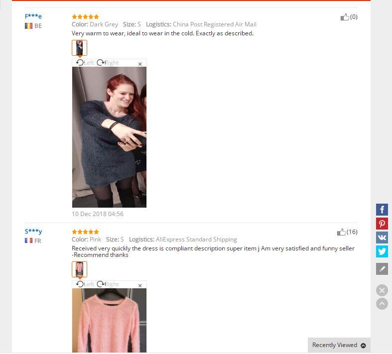 Plush sweater Dress (4)