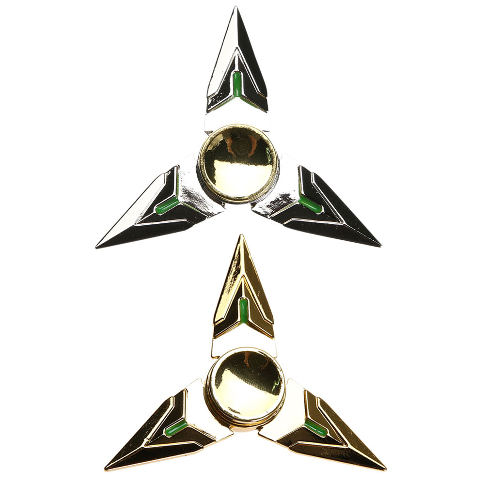 Hand Spinner Tri Triangle Metal EDC Finger Fidget Spinner Focus Toy for ADHD Decompress Autism Kids