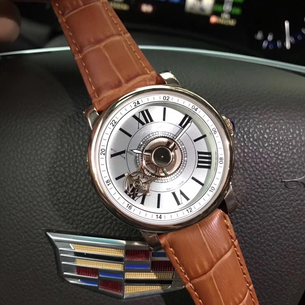 Mens Watches Top Brand Runway Luxury European Design Automatic Mechanical Watch S0714