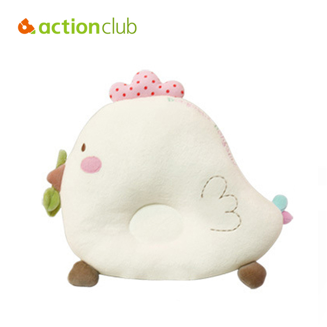 2 PCS Travesseiros Baby & Baby Bibs Do Bebê Infantil Travesseiro De Enfermagem Do Bebê Conforto Para Dormir Brinquedo Galinha Bonito Algodão Proteção de Pescoço Travesseiros HK281