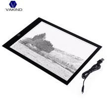 Big sale VAKIND Ultra-Thin A4 LED Light Copy Painting Drawing Board Touch Type Animation Copy Tracing Pad Light Box Tablet Dimmable