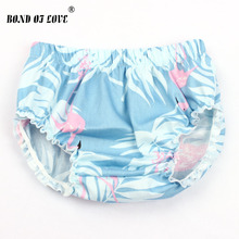 ФОТО fashion baby bloomers baby girl cotton cherry pattern ruffle diaper cover toddler cotton shorts clothes 2 colors yc040