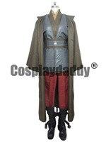 Star Wars Анакин Скайуокер/Дарт Вейдер рыцаря Косплэй костюм халат плащ
