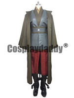 Star Wars Anakin Skywalker Darth Vader Jedi Knight Cosplay Costume Robe Cloak