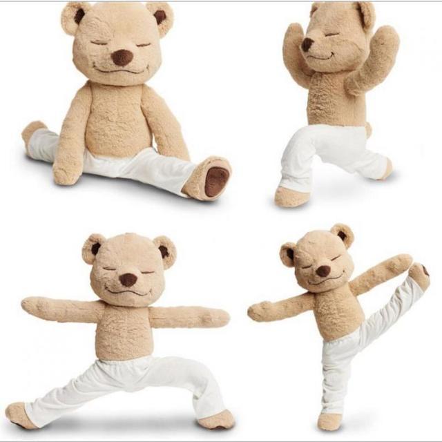 Big 1pc 40cm / 60cm Yogi Bear Plush Toys Cute Soft Stuffed Animals Bear Dolls For
