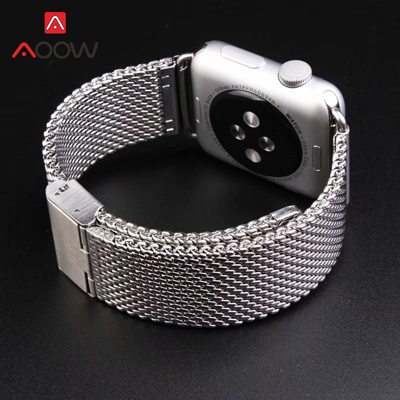 316L Stainless Steel Watchband for Apple Watch 38mm 40mm 42mm 44mm Replace Bracelet Band Strap for iWatch 1 2 3 4 Black Gold316L Stainless Steel Watchband for Apple Watch 38mm 40mm 42mm 44mm Replace Bracelet Band Strap for iWatch 1 2 3 4 Black Gold