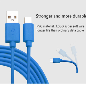 Image 3 - Cabo usb tipo c para celulares iphone, cabo de carregamento rápido para samsung s8, s9, pocophone f1 cabo micro usb para huawei