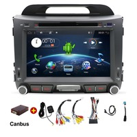 android 7.1 car dvd for kia sportage 2014 2011 2009 2010 2013 2015 car radio stereo multimedia player with Wifi bluetooth rds