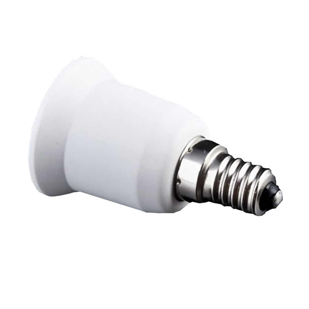 DSHA New Hot E14 to E27 Extend Base LED CFL Light Bulb Lamp Adapter Converter Screw Socket