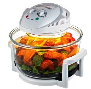 1300 Watt 16 Quart Halogen Oven 12L 220V, turboovn 1300W GS / CE, konventionel infrarød Super Wave Oven