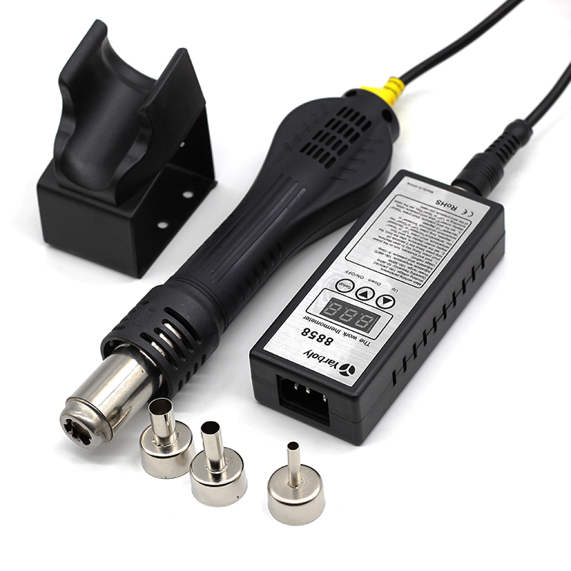 Portable Soldering Heat Gun for Blowing Hot Air While Soldering IC Chip of Mobile and Laptop 11