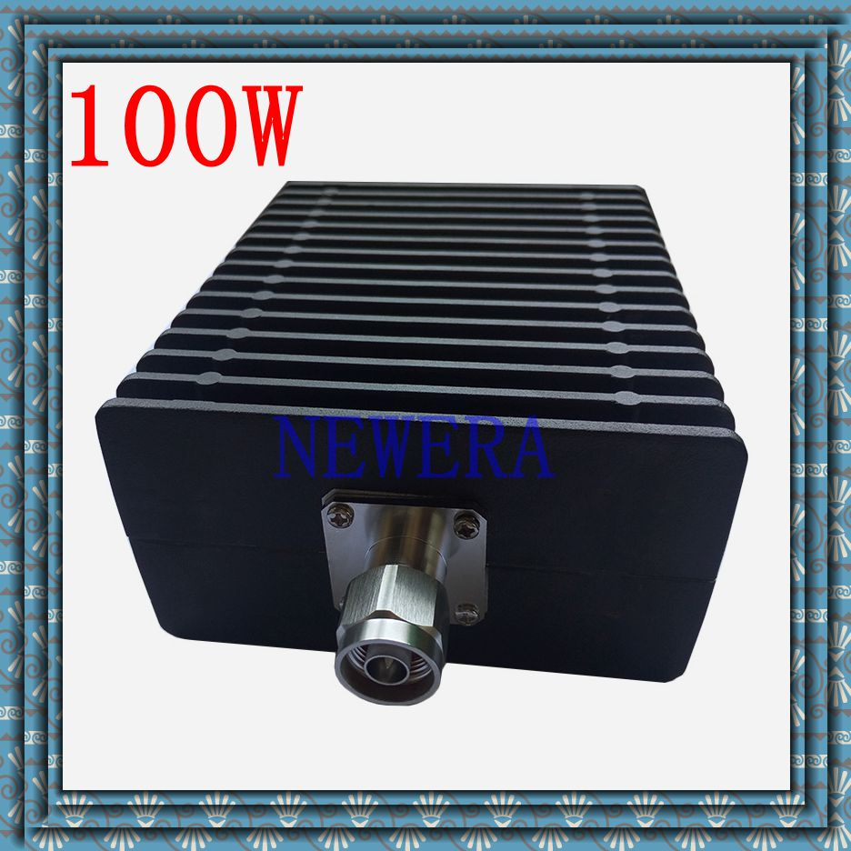 100W N connector RF N dummy load/ N termination load DC-3GHz 50 ohm 10pcs 100pcs rf coax connector n kfd water proof n connector mount on plange