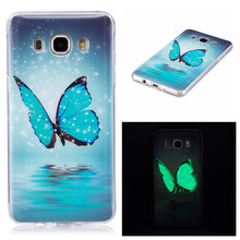 SuliCase J3 J5 J7 2016 Case Luminous Anime Silicon TPU Case for Samsung J5 2016 Cover For Funda Samsung Galaxy J7 2016 J710F стоимость