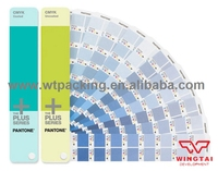 Màu PANTONE CMYK Tráng & Không Tráng in ấn thẻ màu GP5101 CU