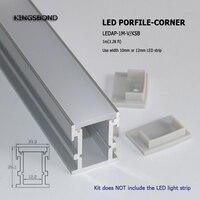 10 개 1 메터 긴 13 미리메터 최근 알루미늄 led 프로필 바닥 또는 벽 조명 않고 도트 라이너 조명 도매