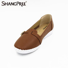 New 2017 Classic Women Casual Shoes mother Summer Autumn Breathable Women Flats Fashion Ladies Hollow Shoes
