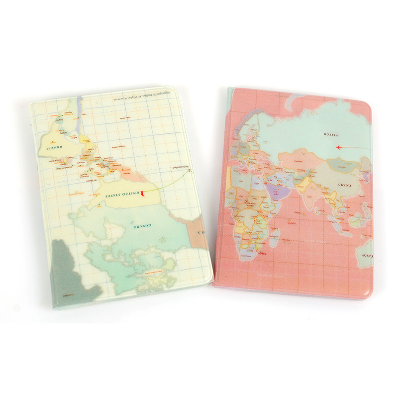 World Map Passport Holder.2018 New Products The World Map Passport Cover Fashion Travel