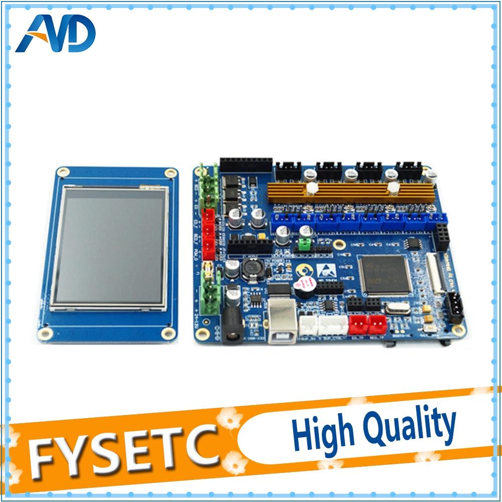 3D Printer Board Dlion ARM32bit STM32 Open-Source Board Set With 2.8inch Touch Screen lt37700 lt40600 juj7 820 357 4 board with 370wxn screen%2