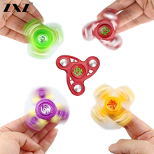 6 Colors High Quality Plastic fidget spinner For Autism and ADHD Hand Spinner Decompression Adult Toy urge ZXZ