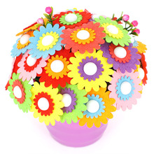 Toys for Children Crafts Kids DIY Flower Pot Potted Plant Kindergarten Learning Education Toys Montessori Teaching Aids Toy kindergarten science laboratory ear anatomic amplification model physical exploration toys demonstration teaching aids