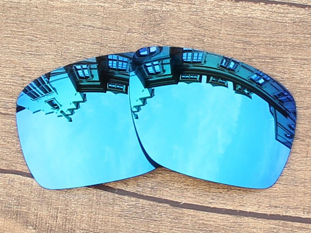 55753b705e13b REPUESTO polarizadas del espejo del azul de hielo Objetivos para envío 1  Gafas de sol Marcos protección 100% UVA y UVB
