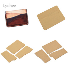 Buy business card templates and get free shipping on aliexpress lychee 1pc diy acrylic leather business card holder template handmade craft leather craft sewing tool accessories reheart Gallery