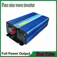 FREE SHIPPING DC 12V 24V 48V To AC 120V 220v Pure Sine Wave 1500w Invertor For