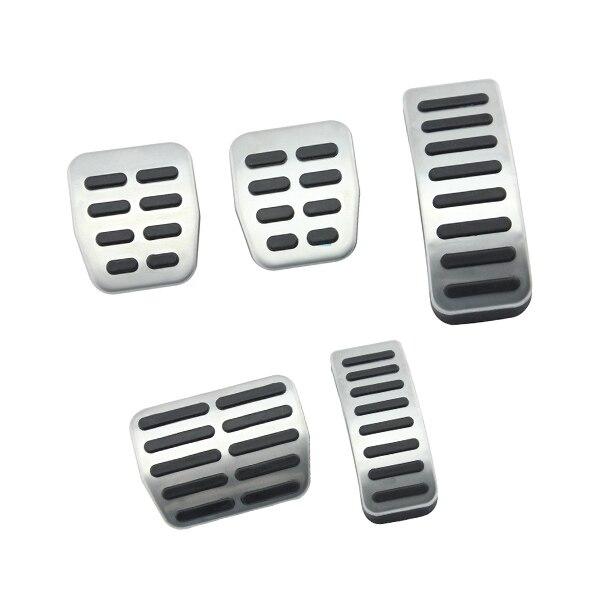 Edelstahl Auto pedal Abdeckung Für Audi A3 Für VW Polo 6N 9N 6R jetta MK4 Für Skoda Fabia Für sitz Ibiza 6 karat/6L/6J/Seat Leon