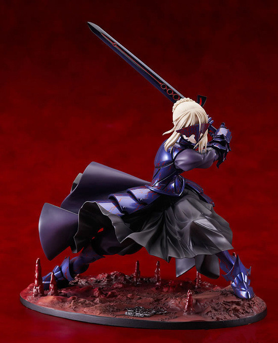 20cm Sexy Fate stay night Black Saber Action Figures PVC brinquedos Collection Figures toys for christmas gift fate stay night fate extra red saber pvc figure toy anime collection new