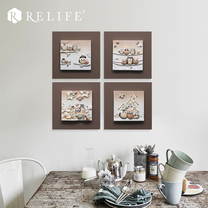 Aliexpress.com : Buy 3D Resin Owl Wall Art Pictures Home