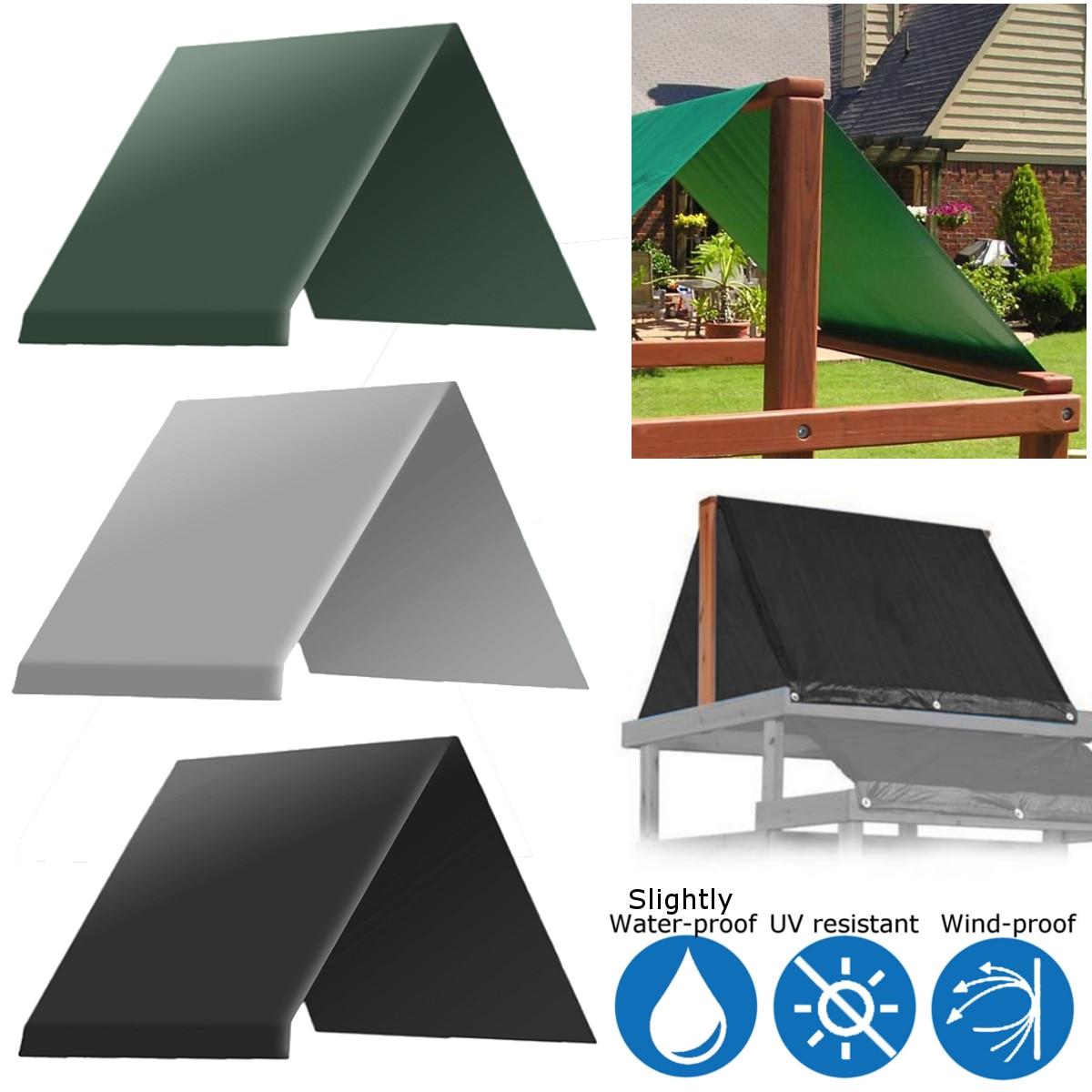 Integrated Playground Equipment Waterproof Hood Garden Swing Chair
