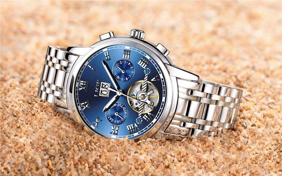 HTB1Y1B fk7mBKNjSZFyq6zydFXaX LIGE Mens Watches Top Luxury Brand Automatic Mechanical Watch Men Full Steel Business Waterproof Sport Watches Relogio Masculino