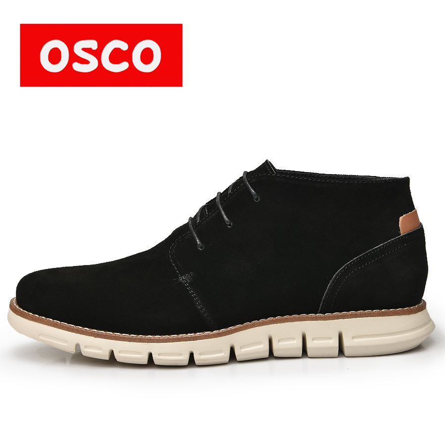 OSCO ALL SEASON NEW STYLES DESIGN BOOTS Fashion outsole COW SUEDE upper comfortable boots #MB00801W пена монтажная mastertex all season 750 pro всесезонная