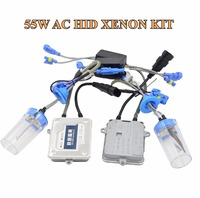 55w AC Hid Xenon Kit Ballast Hid Conversion Kit Xenon Ballast Xenon Bulb White Color 6000k