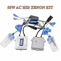 55w AC Hid Xenon Kit Ballast Hid Conversion Kit Xenon Ballast Xenon Bulb White Color 6000k