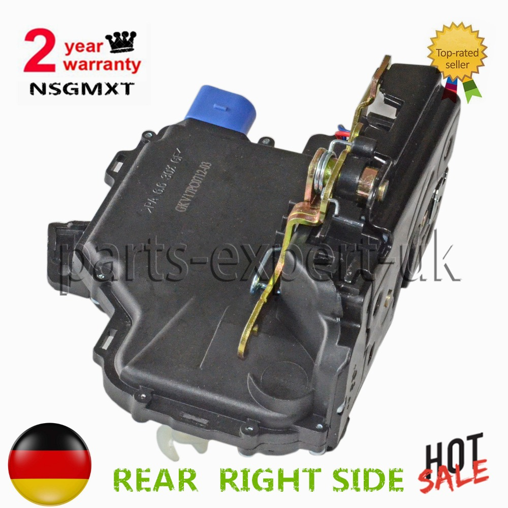 Door Lock Actuator For Skoda Fabia with switch for central locking REAR  RIGHT SIDE 3B4 839 016 AG 3B4 839 016 AN 3B4839016AG -in Valves & Parts  from ...