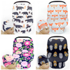 Chair Covers For Baby Cotton Animal Breastfeeding Nursing Cover Multi Use Baby Stroller Cover Car Seat