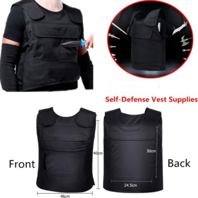 Self Defense Supplies Self-defense Tactical Vest Men Anti Stab Vests Anti Tool Customized Version Outdoor Personal Security Tactical Equipment Preventing Hairs From Graying And Helpful To Retain Complexion