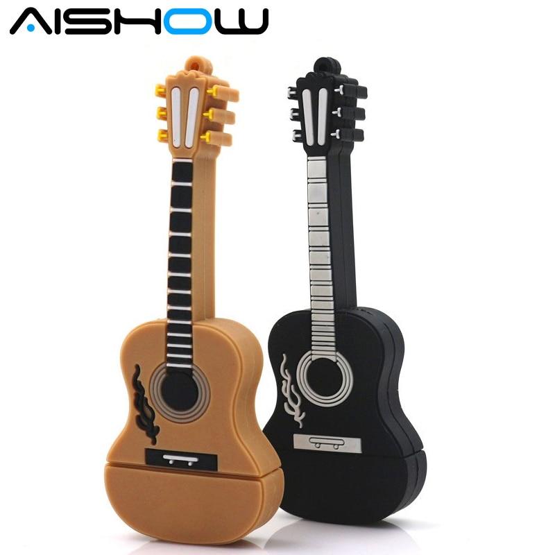 100% reale Kapazität Musikinstrument Gitarre USB-Stick / USB-Stick 2 - Externer Speicher