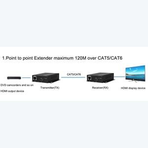 Image 5 - HDMI Extender Transmitter Receiver over Cat5e/Cat6 UTP Cable RJ45 LAN Ethernet  Support 1080P