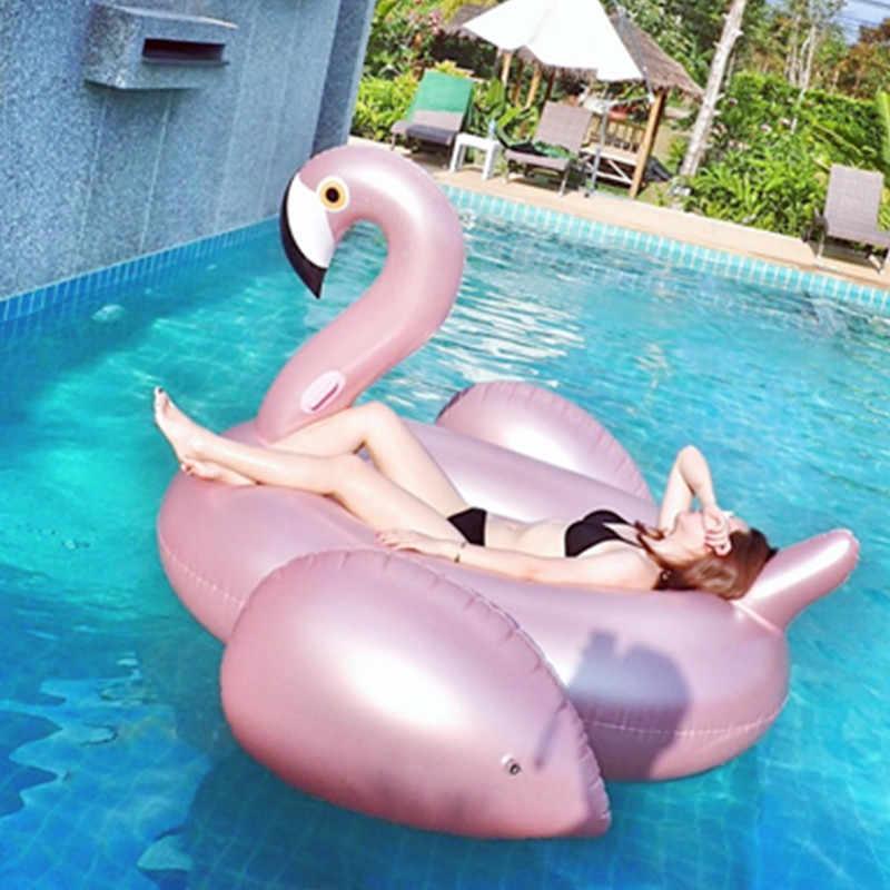 Inflatable Chaise Lounge Sex Love โซฟาเก้าอี้ชายหาดว่ายน้ำแหวนลอยสำหรับเด็กและผู้ใหญ่น้ำของเล่น Giant Swan Flamingo ลอย