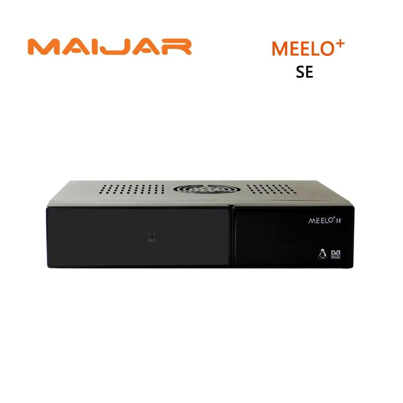 [GENUINE]Meelo+ se DVB-S2 twin tuner same as VU SOLO 2 SE Original Software Satellite Receiver Linux 1300 MHz CPU Mini Vu solo2 2017 vu solo pro v4 enigma2 satellite receiver linux system dvb s2 support youtube iptv new version of solo pro v4