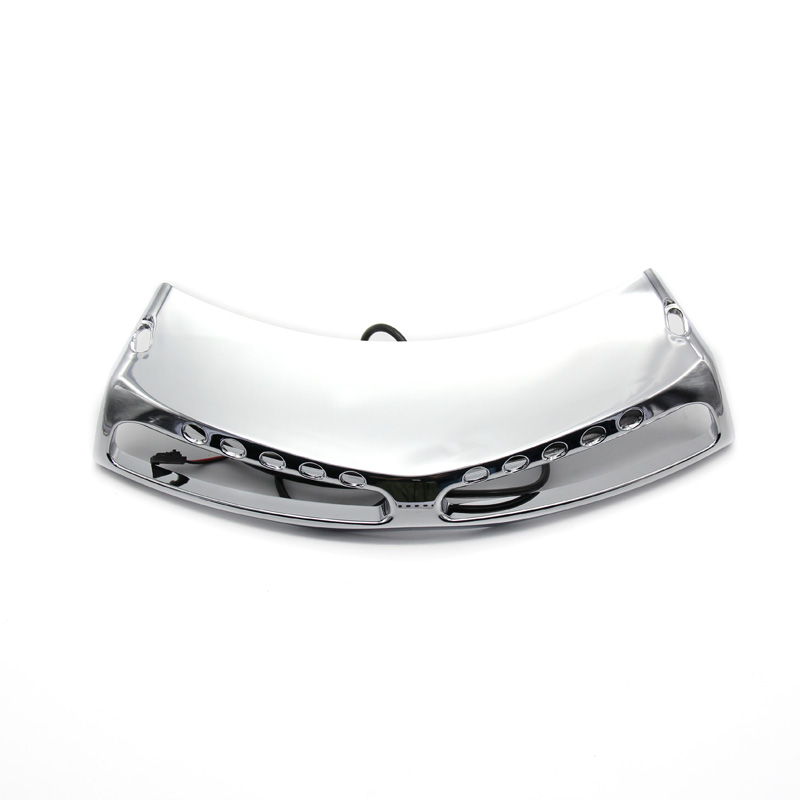 Hot sell Motorcycle Chrome Fairing Headlight Lower Grill For Honda Goldwing 1800 GL1800 2001-2017 F6B 2013-2016 14 15 цена 2017