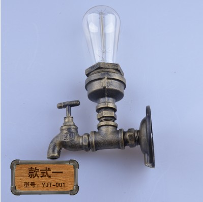 Retro Loft Style Iron Edison Wall Sconce Creative Water Pipe Lamp Industrial Vintage Wall Light Fixtures For Indoor Lighting карандаш для губ catrice longlasting lip pencil цвет 150 vintage rose variant hex name cb7e76