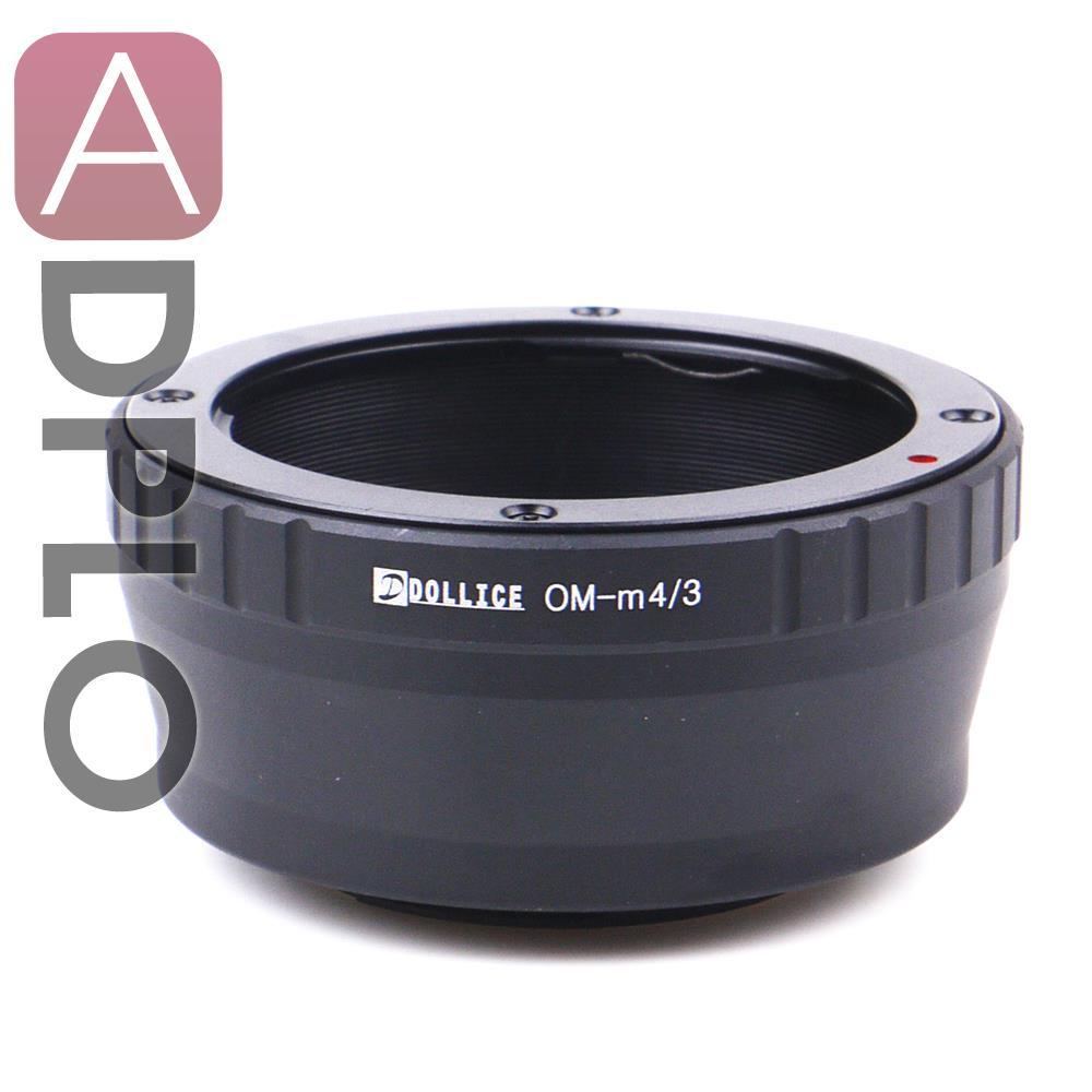 Dollice Lens Adapter Ring Mount Suit For Olympus OM Lens to Micro Four Thirds 4/3 M43 M4/3 Camera  E-PL6 E-P5 E-PL5 E-PM2 E-P3